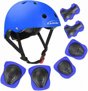 Kamugo Kids Bike Helmet with Sports Protective Gear